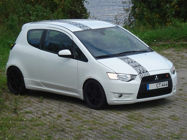 shaved by Samu in Colt Ralliart
