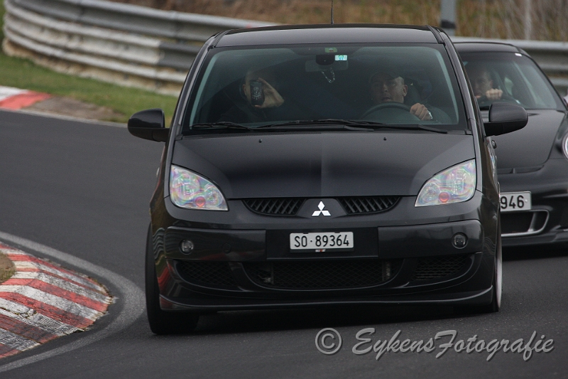 Nürburgring Nordschleife Carfreitag 2012 by czt ralliart in Colt CZT