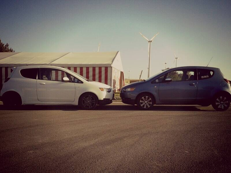 Flocke und Henry :D by Chris in Colt Ralliart