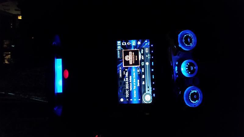 Colt CZ3 Innenraumbeleuchtung blau by JDMway in Innenbereich